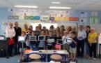 SQOOL, la tablette numérique française qui s'invite dans les classes de l'école d'Afa