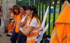 Le STC de La Méridionale proteste devant la préfecture d'Ajaccio