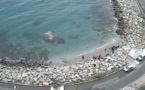 La baignade à nouveau autorisée à la plage de Ficaghjola à Bastia