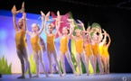 """L'école de danse """"Variation"""" a  fait son show à la Casa Lisulana"""