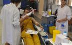 La canicule n'a pas découragé les donneurs de sang de la Plaine Orientale