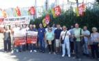 Bastia : La CGT mobilisée à l'occasion de la venue d'Edouard Philippe