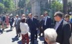Édouard Philippe poursuit sa visite en Corse à Ajaccio