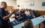 Réunion de prévention aux feux de forêts à la sous-préfecture de Calvi
