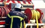 Ghisonaccia :  Un monospace démarre après un départ de feu éteint par des témoins