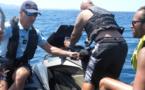 """VIDEO. Opération """"Sécurité mer"""" à Ajaccio pour sensibiliser les plaisanciers"""