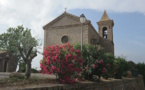 La photo  jour : l'église de Coti Chiavari