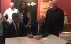 Bastia : L'association du comité du patrimoine signe une charte de jumelage avec l'Italie