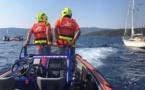 Porto Pollo : Le voilier percute l'embarcation du club de plongée