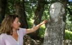 Site préhistorique de Tavera : état de délabrement inquiétant de la statue-menhir