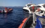 Mayday ! Six personnes secourues en mer à Roccapina par la SNSM Prupià