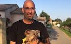 """""""Jules"""" retrouve ses propriétaires 6 ans après à Santa-Lucia di Moriani  !"""