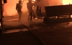 Trois camions en feu à Lisula