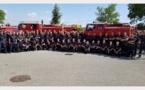 Incendies : 86 pompiers drômois et ardéchois en renfort en Corse