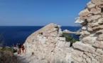 Les remparts de la citadelle de Bonifacio s'effondrent