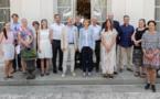 Des parlementaires suédois à la préfecture de Corse