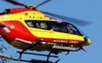 Une randonneuse évacuée par hélicoptère au lac de Nino
