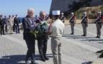 Cérémonie à la Stèle du 1er Choc de Calvi pour le 76e anniversaire de la libération de la Corse