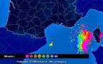 Alerte météo en Corse : Un épisode orageux plus intense que prévu est en cours