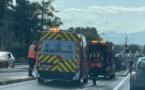 Quatre blessés légers dans l'accident du mini tunnel de Casatorra