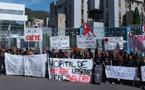 Bastia : L'hôpital dans la rue !