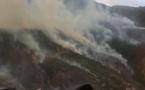 Feu de Volpajola : les pompiers héliportés