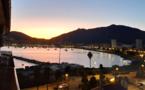 La photo du jour : coucher de Soleil sur le golfe d'Ajaccio