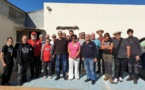 "Le club de tir ""A Catana"" avec la Ligue contre le Cancer"