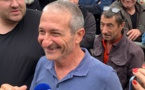 VIDEO - Crise agricole : Joseph Colombani remis en liberté