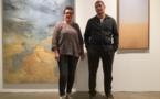 Sophie et Marc Pollini tournés vers de jolis horizons