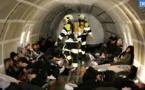 EN IMAGES - Un exercice grandeur nature sur un accident d'avion à Ajaccio