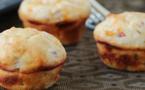 A table : Muffins au figatellu et au tomme corse