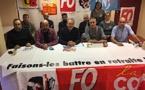 CGT, FO, FSU, STC et UNSA Corse contre la réforme des retraites