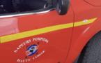 Rixe au port de Toga : les pompiers récupèrent le blessé dans sa voiture