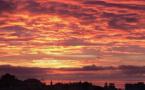 La photo du jour : un magnifique ciel au dessus de Bastia