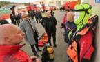 Une délégation indonésienne en visite chez les sapeurs-pompiers d'Ajaccio