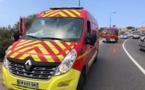 Une voiture sous un pont à Bastia : une personne blessée