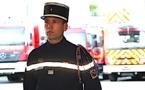 Le capitaine Stéphane Orticoni officiellement à la tête du centre d'incendie et de secours de Calvi