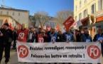 EN IMAGES- A Bastia, la mobilisation contre la réforme des retraites ne faiblit pas
