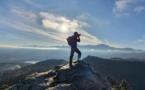 La photo du jour : le Montegrossu vu du mont Sant Angelo