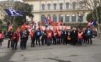 Grève du 24 janvier : Avocats, enseignants, retraités, syndicats et gilets jaunes mobilisés à Bastia
