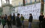 Militants nationalistes détenus à Paris : rassemblement de soutien à Ajaccio
