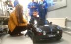 Hôpital de Bastia : don d'une voiturette électrique pour le service pédiatrie