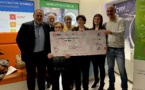 EDF Corse remet un chèque de 6 732 € à l'AFM Téléthon
