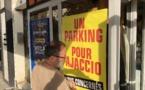 «Un parking pour Ajaccio», les associations de commerçants manifestent pour faire entendre leurs voix