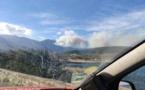 Départ de feu à Pietracorbara : 8 hectares déjà parcourus par les flammes