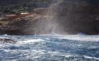 Des pointes de vent à 140 km/h enregistrées à l'Ile-Rousse