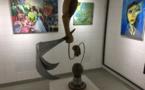 """De belles couleurs à la galerie ... """"Noir et blanc"""" de Bastia"""