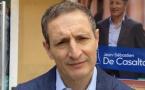 Jean-Sébastien De Casalta, candidat à la mairie de Bastia.