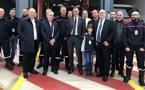 L'aéroport de Bastia-Poretta inaugure sa nouvelle caserne de pompiers
